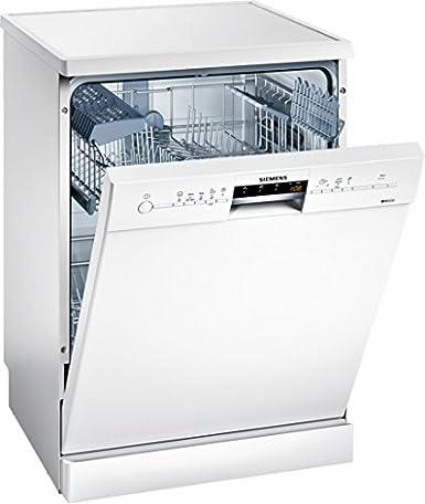 SIEMENS-Lave vaisselle-Nombre de couverts : 13, Nombre de programmes : 5, Niveau sonore : 44 db, Consommation d'eau : 11 litres, Nombre de températures : 5, Classe énergétique : A+++/A/A, Couleur : blanc