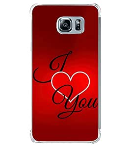 I Love You 2D Hard Polycarbonate Designer Back Case Cover for Samsung Galaxy Note5 :: Samsung Galaxy Note5 N920G :: Samsung Galaxy Note5 N920T N920A N920I
