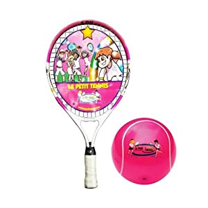 Buy Le Petit Tennis Racquet 19 Inches + BALL (Ages 5 to 6) by Le Petit Tennis