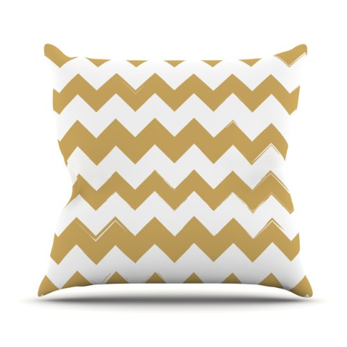 gold chevron pillow best chevron throw pillows - Gold Decorative Pillows