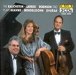 Mendelssohn, Brahms, Dvorak: Trios