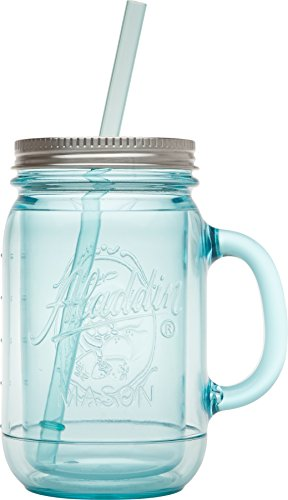 Aladdin Original Insulated Mason Tumbler, 20oz, Aqua