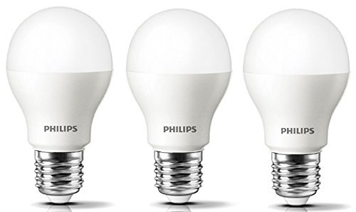 Stellar Bright E27 10.5W 1055 Lumens Led Bulb (Crystal White, Pack of 3)
