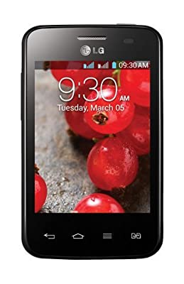 LG E435 Optimus L3 II Black Dual Sim Unlocked Android Phone