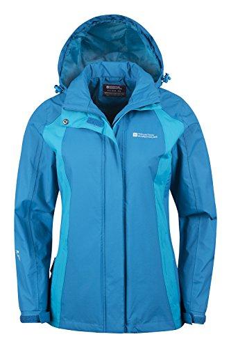 Mountain Warehouse Gust Damenjacke mantel Blaugrün DE 44 (EU 46) -