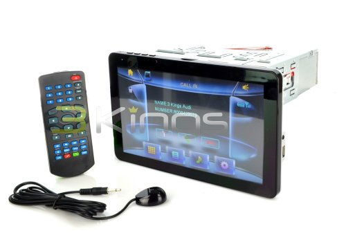 POWER ACOUSTIK PD-931NB Multimedia 9.3-Inch Oversize Screen In Dash DVD with iPod Certified Input