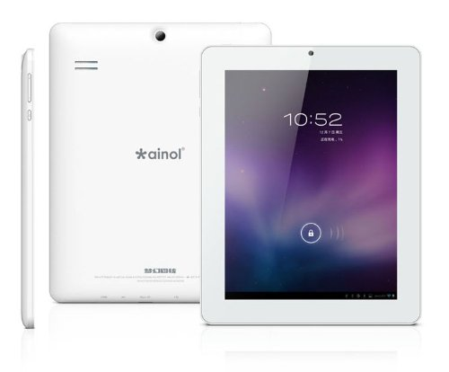 Electronics-Depot® 8″ Ainol NOVO8 Dream Quad Core Tablet PC ATM7029 Cortex A9 1GB RAM 16GB ROM Android4.1 Dual Camera (8″, White)
