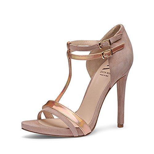 Evita Shoes sandaletti, Rosa (Rosa antico), 39