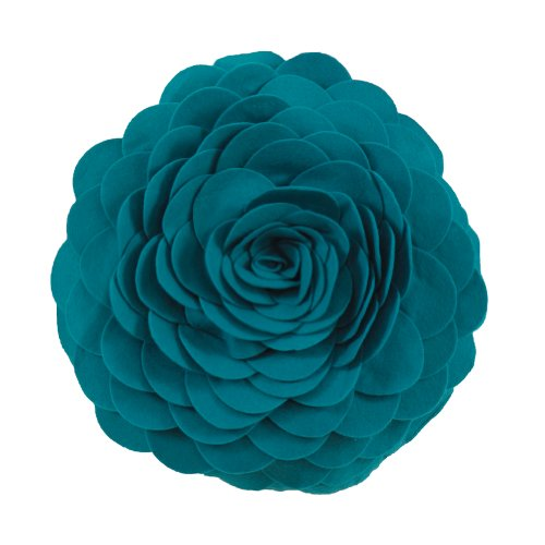 Eva's Flower Garden Decorative Throw Pillow.