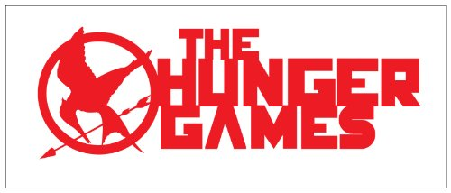 Hunger Games Design 2 Sticker Decal Red