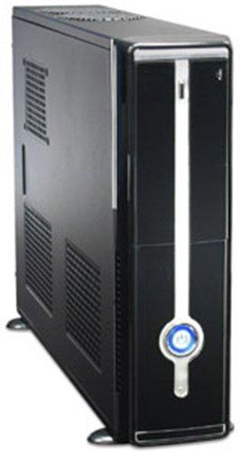 サイズ ATX電源・マザーボード搭載可能スリムケース SARA2 (ブラック) SARA2-BK