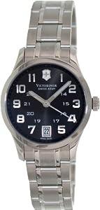 Swiss Army 241325 30 Silver Steel Bracelet & Case anti-reflective sapphire Women's Watch