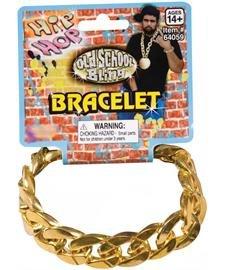 Gold Chain Link Bracelet Standard