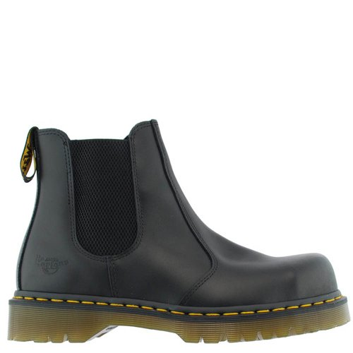 Dr martens 2028 chelsea 10290001 black goodyear en cuir v ritable sb chaussures eur 39 uk 6 - Chaussure de securite goodyear ...