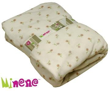 Minene Fitted Sheet (Cream Flowers)