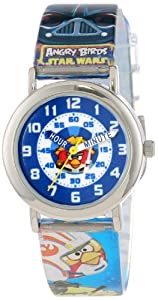 Angry Birds Kids ABSWKQ003 Time Teacher Watch