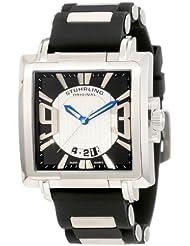 Stuhrling Original Men's 278B.331713 Sportsman Il Capo Classic Swiss Quartz Date Silvertone Watch