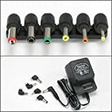 InstallerParts 800mA Universal AC/DC adapter w/6 Plugs