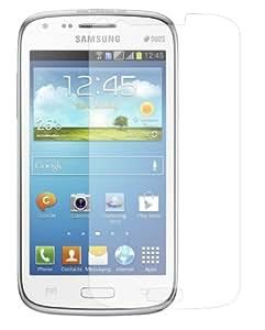 6 x Membrane Displayschutzfolie Samsung Galaxy Core Duos (GT-i8262 / i8260 Core) - Unsichtbar Aufkleber Schutzfolie, Verpackung und Zubehör