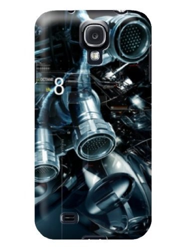 Cell Phone Accessories Samsung Galaxy S4 Hard Case Printed Telescope Pattern Background By-Cell Phone House