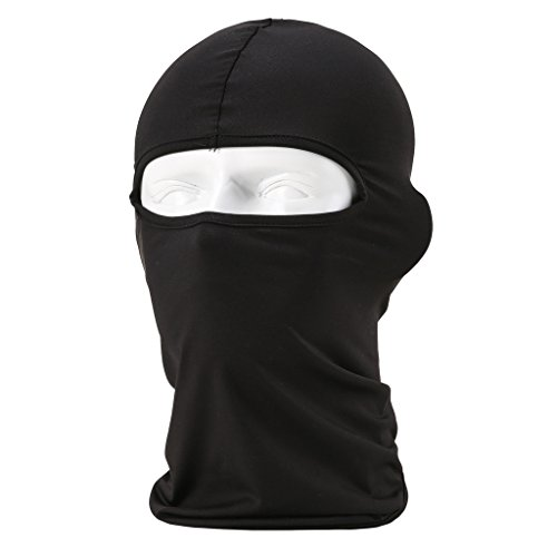 Maoko Motorcycle Outdoor Sports Hood Full Balaclava Windproof- Airsoft Riding Face Mask Hat Black (Full Face Air System compare prices)