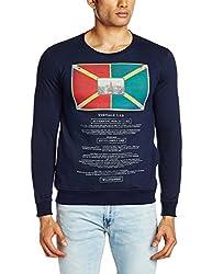 Killer Men's Cotton Sweatshirt (8907201789623_KT-2154DALLAS RNFS NV_Small_Navy)