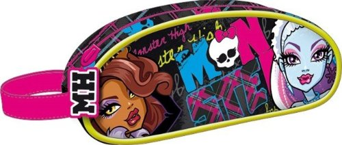 Monster High Federtasche Monster High Schlamperrolle Kosmetiktasche Draculaura EDEL 2013