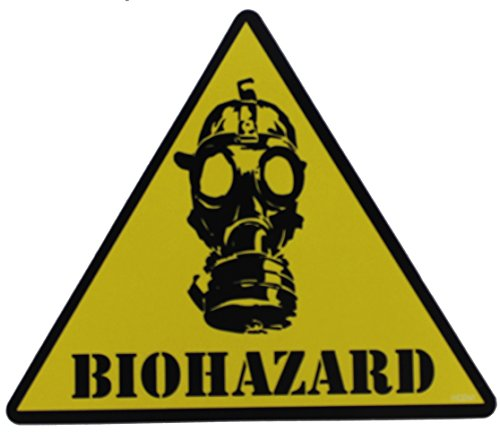 C&D Visionary CDX Biohazard Mask Sticker - 1