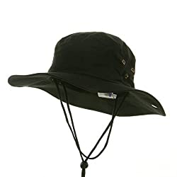 Fishing Hats (01)-Black W11S35E