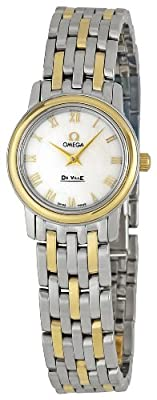 Omega Women's 4370.71 DeVille Mother Of Pearl Dial Watch
