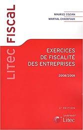 Exercices de fiscalité des entreprises, 2008-2009