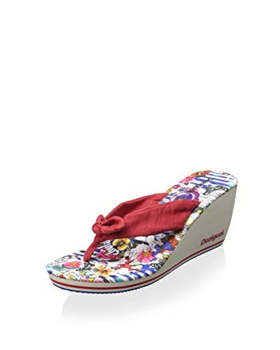 Desigual Women's Bow Wedge Sandal
