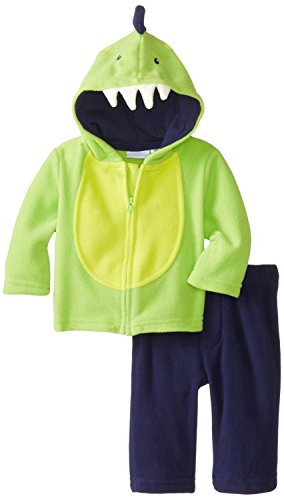 Kids Headquarters Baby-Boys Newborn Jacket With Navy Pants, Green, 0-3 Months front-684995