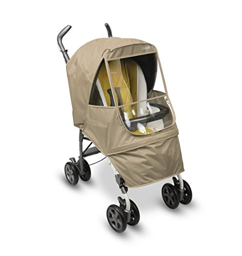 Manito Elegance Alpha Stroller Weather Shield / Rain Cover - Beige