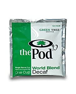 The POD, 1-Cup Coffee Pods - World Blend (Decaf) 108 Pods