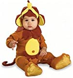 Rubie's Costume EZ-On Romper Costume, Monkey See Monkey Do, 0-6 Months