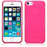 STYLEaphone® GLOSS FINISH TPU GEL CASE COVER SKIN PROTECTOR FOR IPHONE 5 5S (PINK)