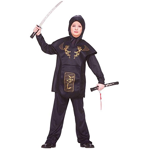 Gold Dragon Ninja Boy Kids Costume