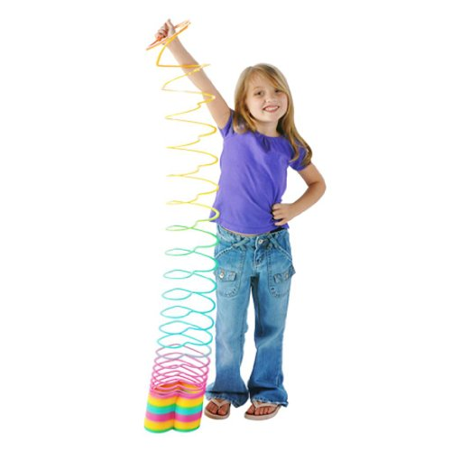 Rhode Island Novelty Jumbo Heart Coil Spring Slinky Style Toy at Sears.com
