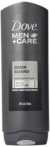 Dove Men+Care Body Wash, Odor Guard, 18 Ounce