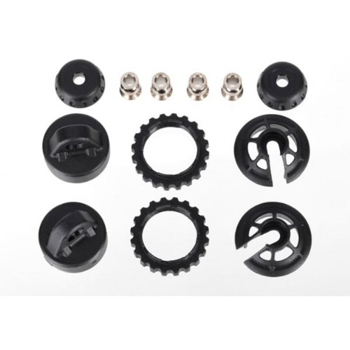 Caps & Spring Retainer,GTR L,XXL Shock:6807L,6804R