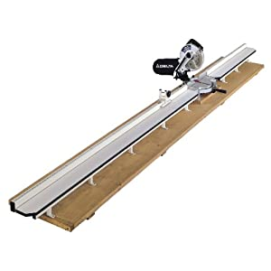 Biesemeyer 78 808 8 Foot Miter Table System For 10 Inch Saw 5 1 2 Inch Table Width Saw Fences