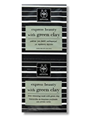 APIVITA Express Beauty with Green Clay Masks 2 x 8ml