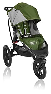 Baby Jogger Summit X3 Single Stroller, Green