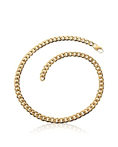 Blackjack Jewelry Braccialetto 24 Cuban Link Chain 18K