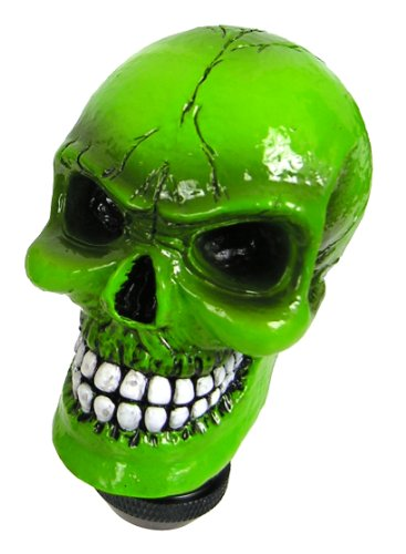 Custom Accessories 23179 Green Skull Gear Shift Knob (Gear Shifter Knobs For Girls compare prices)