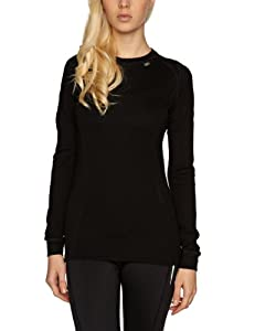 Helly Hansen Women's Ice Crew Shirt, Black, X-Large