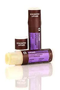 Pangea Organics Lip Balm, Pyrenees Lavender With Cardamom, 0.25-Ounce Tubes from Pangea Organics