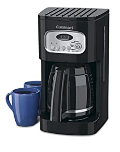 Cuisinart DCC-1100BKC 12-Cup Classic Programmable Coffeemaker, Black