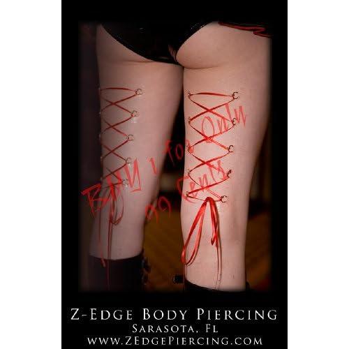 corset body piercing. Amazon.com: Leg Corset Body